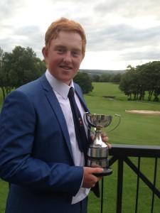 Harry Hibbert Derbyshire Boys Champion